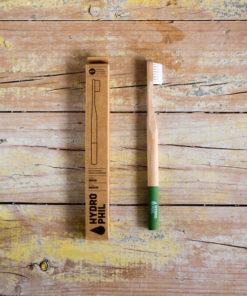 cepillo dientes ecologico bambu verde
