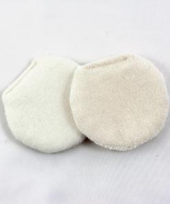 discos desmaquillantes pequeños algodon organico