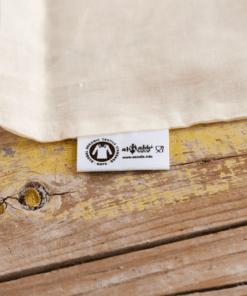 bolsas a granel algodón orgánico gots grandes