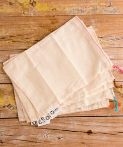 bolsas algodón organico a granel pequeñas
