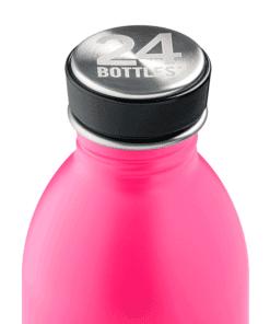 botella acero inoxidable rosa 500ml