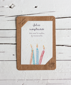 postal semillas feliz cumpleaños