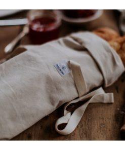 bolsa barras de pan algodon natural
