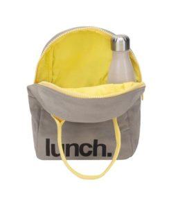 mochila helados almuerzo algodon organico