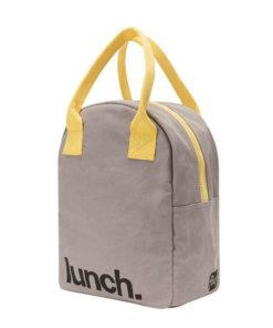 mochila lunch almuerzo algodon organico