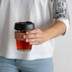 keepcup taza de vidrio reutilizable cafe