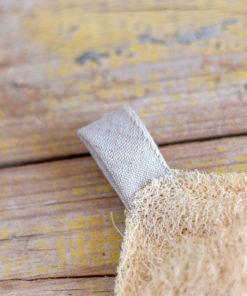 esponja cuadrada luffa
