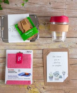 caja regalo comer fuera de casa