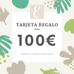 Tarjeta regalo 30€ tienda zero waste esturirafi