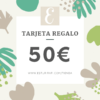 tarjeta regalo 50€ tienda zero waste esturirafi