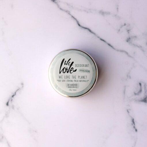 Desodorante natural en crema we love the planet sin bicarbonato