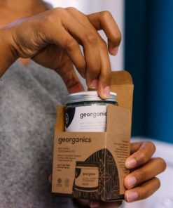 pasta de dientes aceite coco carbon activado georganics