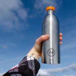 botella de acero inoxidable reutilizable 1 litro 24bottles