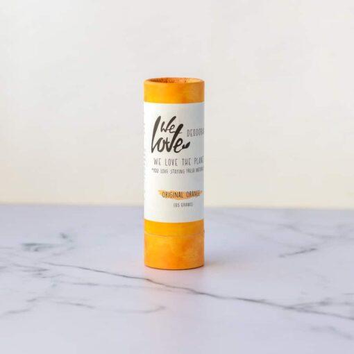 Desodorante natural en stick we love the planet mandarina