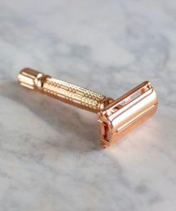 maquinilla reutilizable cobre