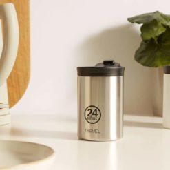 Travel Tumbler-vaso termo de acero inoxidable reutilizable