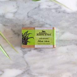 Jabón de aloe vera para pieles sensibles