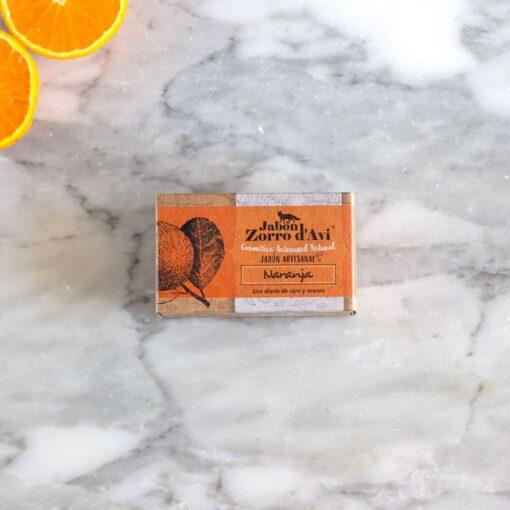Jabón de naranja nutritivo hidratante