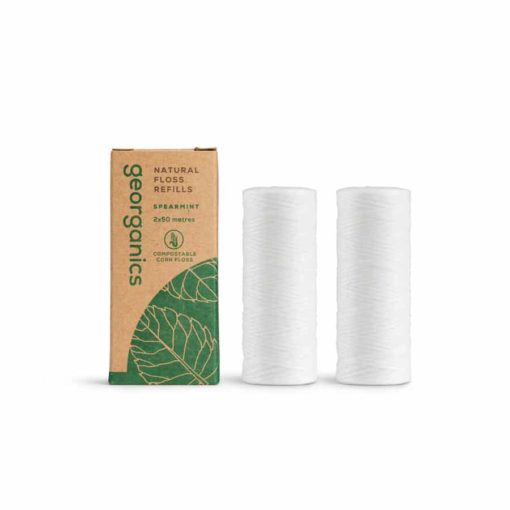 Georganics Hilo Dental Vegano Biodegradable