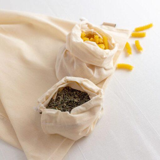 bolsas de algodón para comprar a granel fabricadas en España