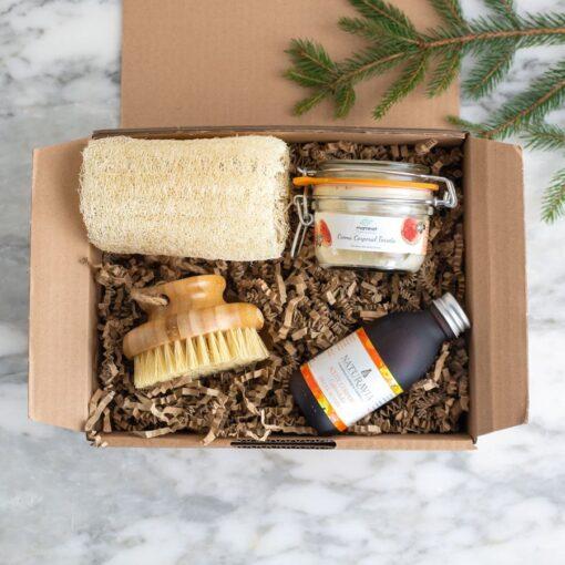 Pack Regalo cuidado corporal natural Zero Waste