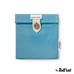Porta snacks Boc'n'Roll BIO azul