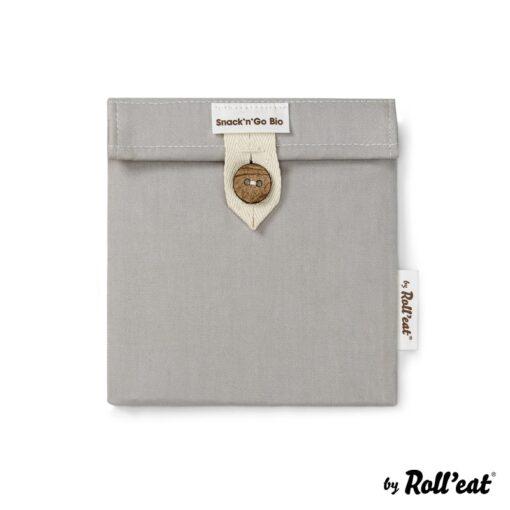 Porta snacks Boc'n'Roll BIO gris