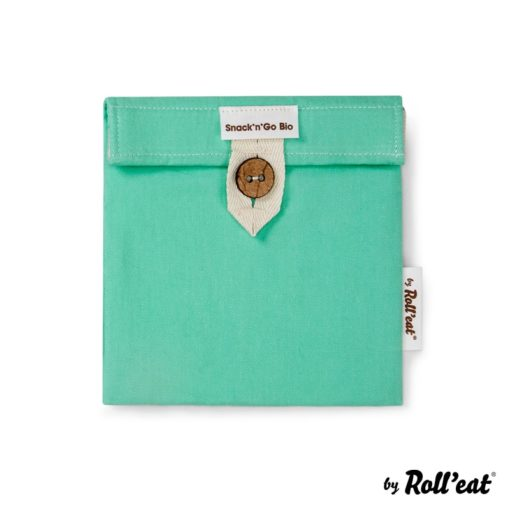 Porta snacks Boc'n'Roll BIO verde menta