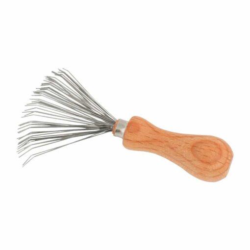 cepillo limpiador de peines y cepillos de redecker