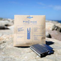 pinzas para la ropa de acero inoxidable detalle playa