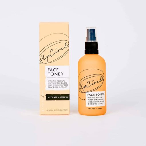 Tónico facial con mandarina y manzanilla 100ml - UpCircle