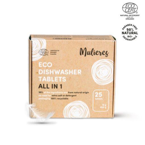 Pastillas lavavajillas ecológicas