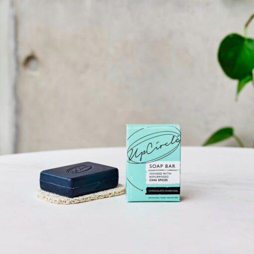 Jabón exfoliante ecológico con carbón activado 100g