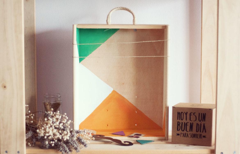 Diy c mo decorar una caja de madera esturirafi - Cajas de vino para decorar ...