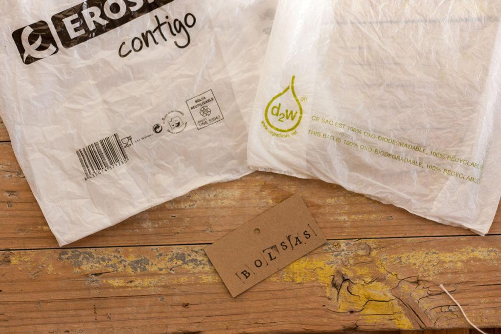 bolsas biodegradables diferencias opciones