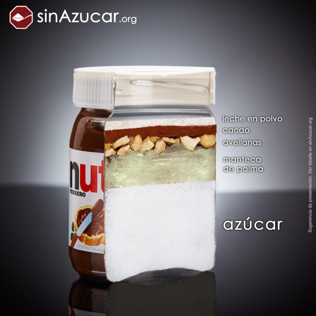 Composición de la Nutella