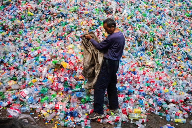 residuos plasticos china
