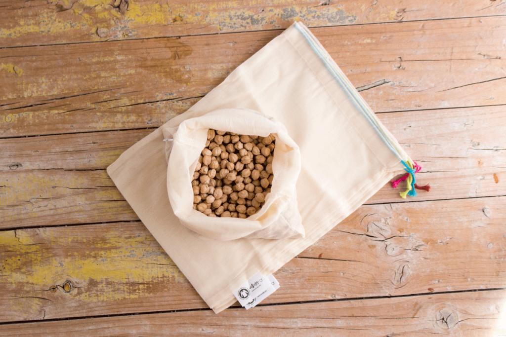 Bolsa pequeña comprar granel sin plástico