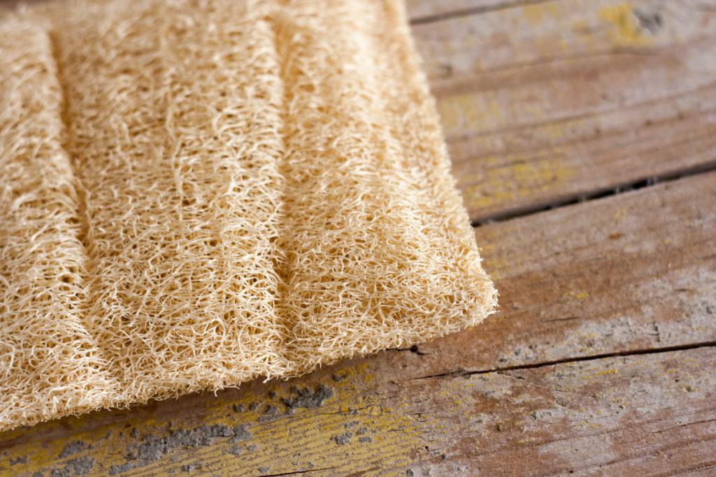 esponja vegetal cuadrada luffa