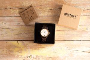 one oak madera reloj
