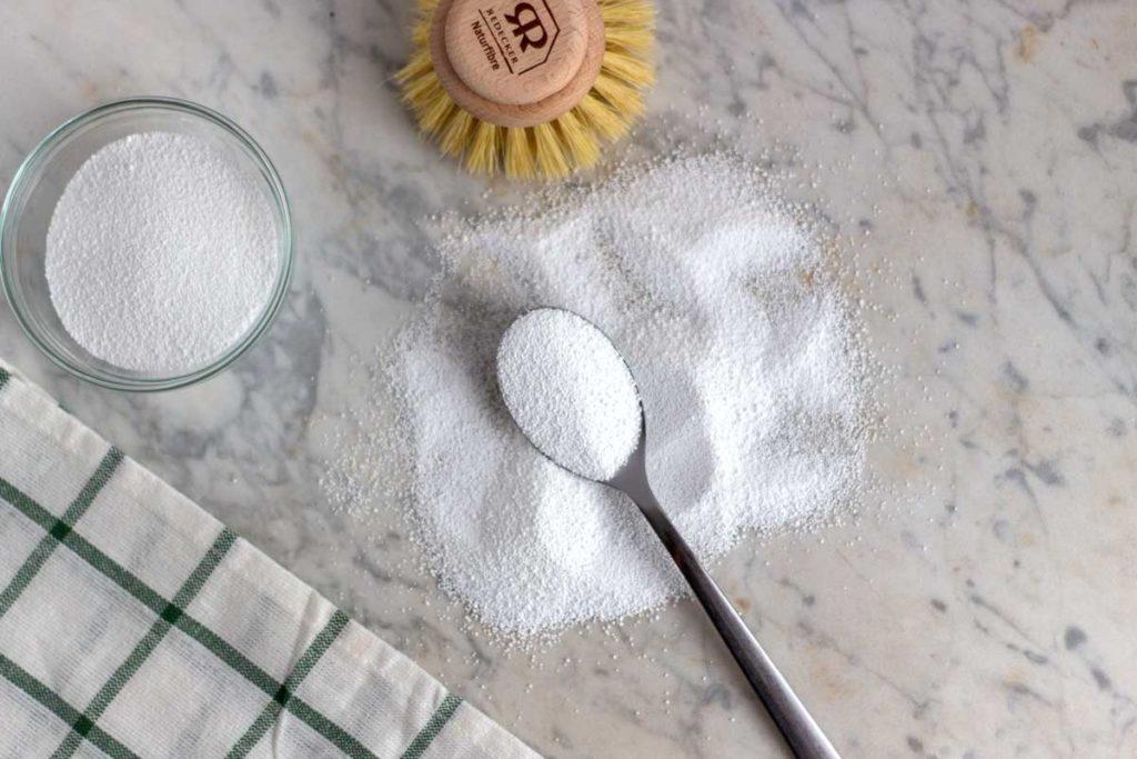 Cómo usar percarbonato de sodio en la lavadora