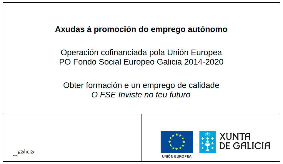 axuda promocion emprego autonomo xunta 2018