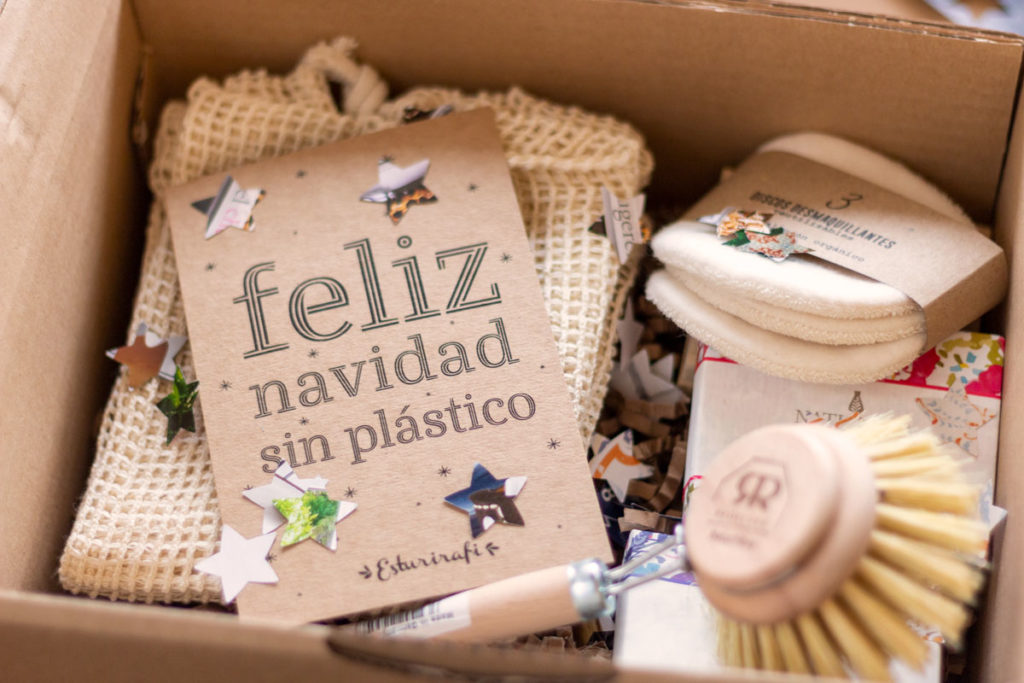navidad sin plástico