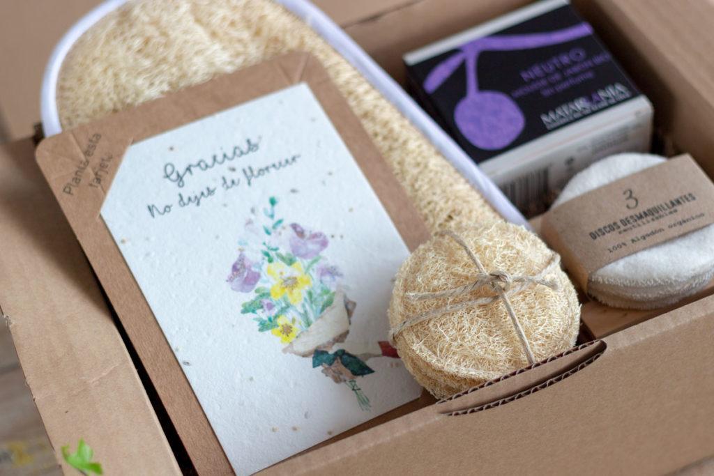 caja regalo belleza zero waste