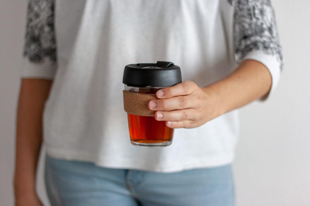 taza de café reutilizable keep cup