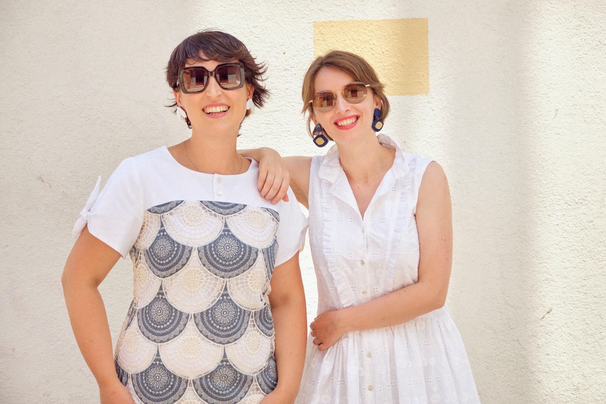 sara y olalla diseñadoras de la bocoque moda sostenible hecha en Galicia