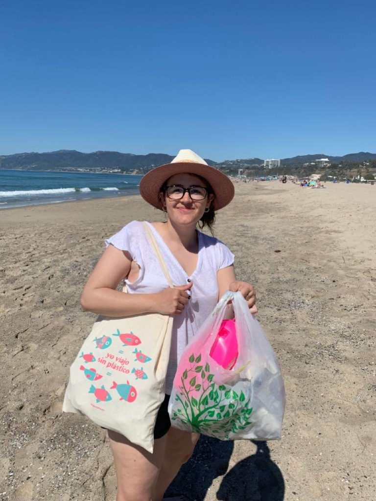bolsa reutilizable viajar sin plástico