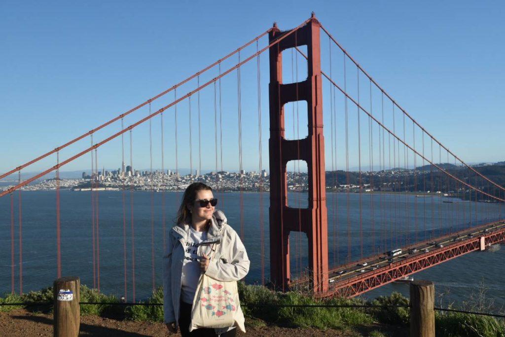 Viajar sin plástico San Francisco puente