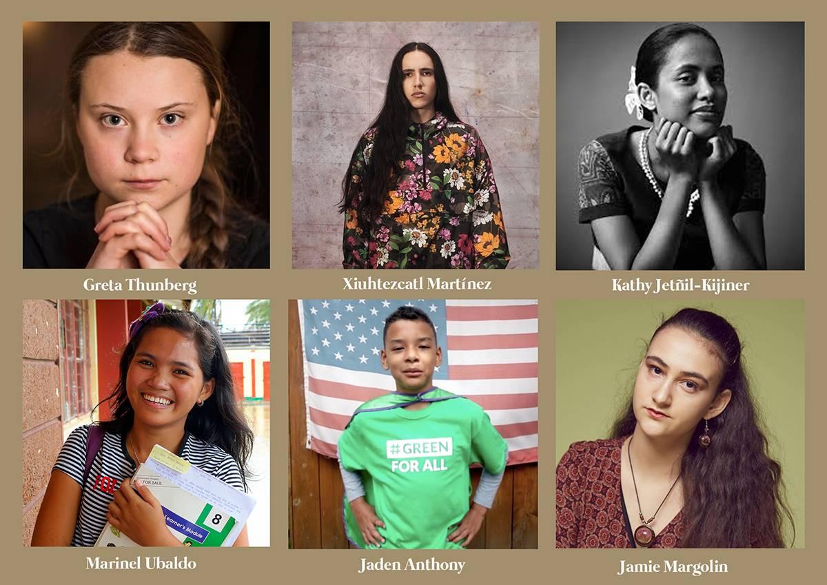 jóvenes activistas ecología