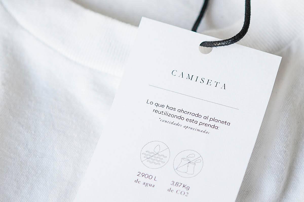 etiqueta moda sostenible